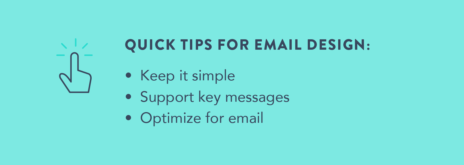 Email marketing 101 - Quick tips