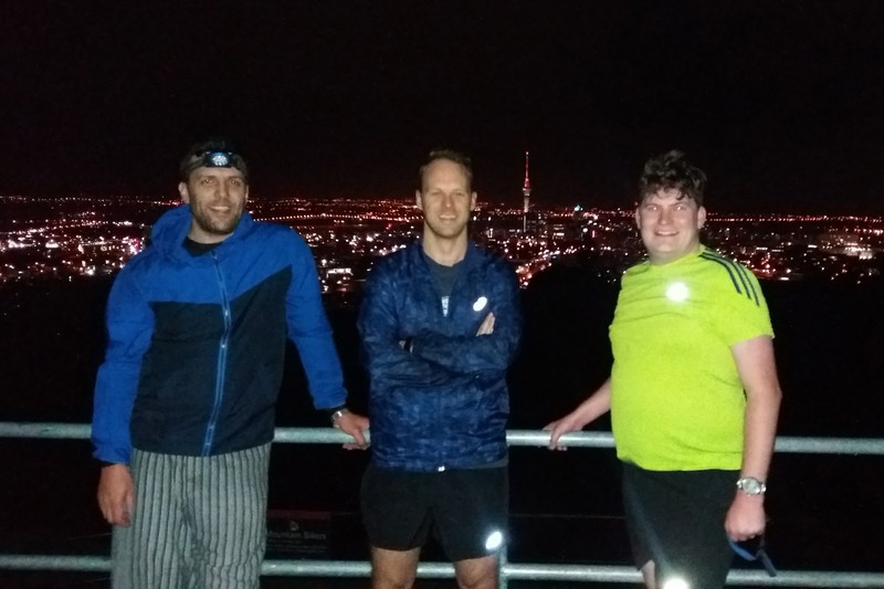 Run Club conquer Mount Eden